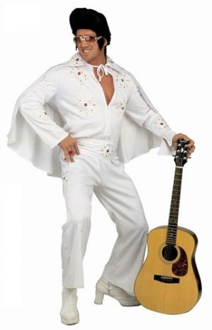 Plus size Elvis King of Rock costume